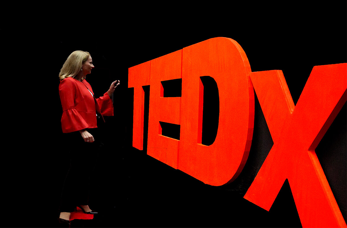 Dr Peta Stapleton - Presenting at TEDx - EFT Tapping